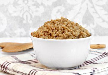 Quinoa étuvé