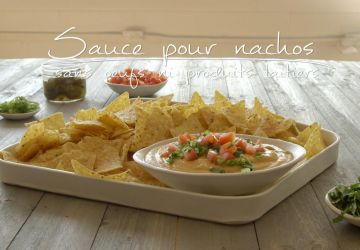Sauce pour nachos (sans oeufs ni produits laitiers)