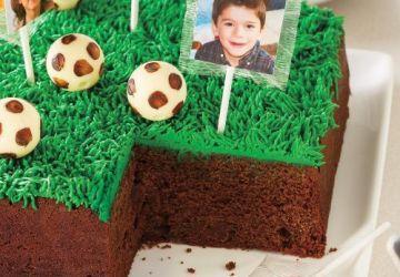 Gâteau soccer
