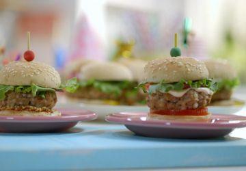 Mini-burgers dinde et sarrasin