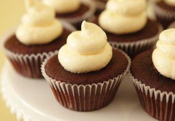 Mini-cupcakes surprises au chocolat