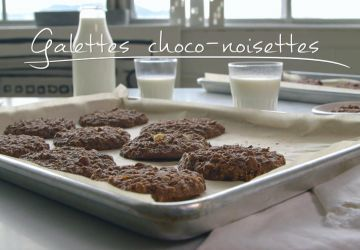 Galettes choco-noisettes