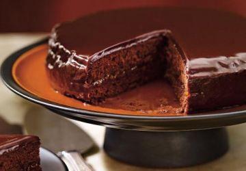 Gâteau au chocolat et à l'abricot (Sachertorte)