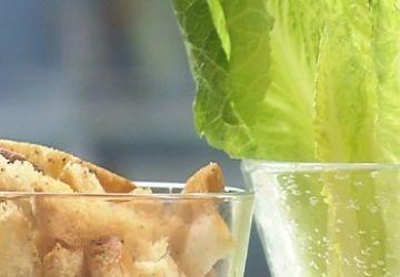Variations sur la salade césar