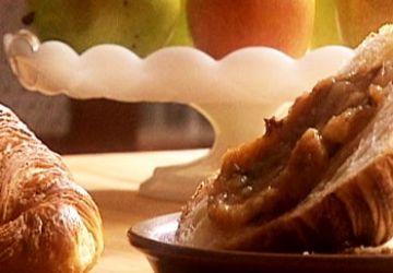 Compote de pommes et pruneaux à la vanille