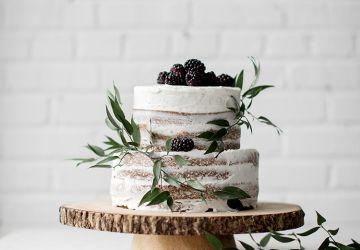Gâteau au citron & aux amandes