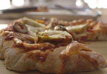 Pizza maison extra-légumes