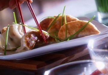 Raviolis chinois poêlés - kuo tieh