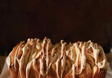Pain à l'érable à partager (pull-apart bread à l'érable)