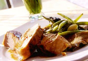 Filet de porc à l'orientale