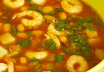 Soupe aux crevettes style Thaï