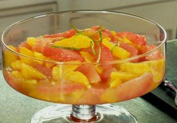 Salade d'oranges et pamplemousses