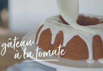 Gâteau à la tomate