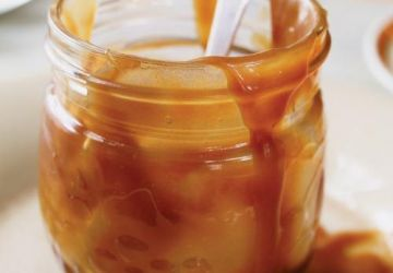 Sauce au caramel (sauce butterscotch)