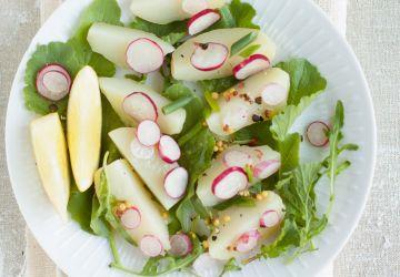 Salade de pommes de terre et roquette