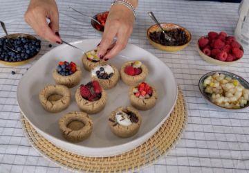 Coupelles de biscuits