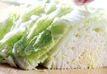 Salade de chou nappa