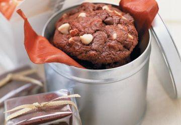 Biscuits choco croquants