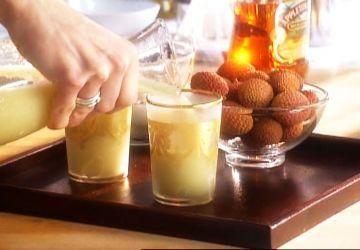 Cocktail oriental – Limonade aux litchis
