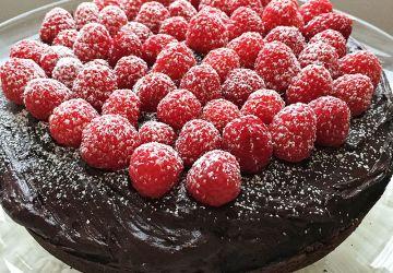 Gâteau au chocolat végétalien