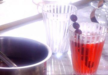 Cocktail de canneberges épicé