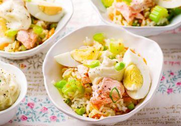 Salade de saumon et riz