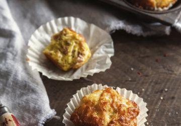 Mini-quiches jambon & fromage à la manière d'un muffin