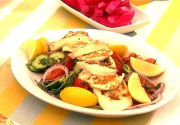 Salade Halloumi