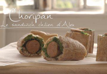 Choripán - Le sandwich chilien d'Alex