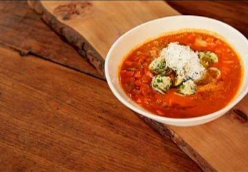 Soupe aux tomates, version italienne