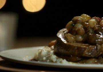 Rôti de dinde ou de veau à l'italienne