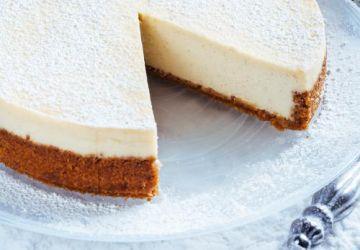 Gâteau au fromage au lait de poule