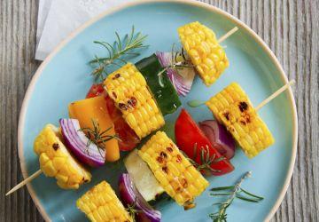 Brochette de légumes au BBQ