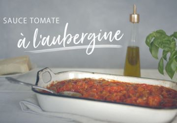 Sauce tomate à l'aubergine