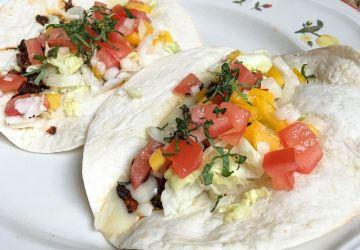 Tacos végétariens aux champignons
