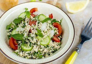 Salade Taboulé au quinoa germé