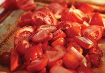 Soupe de tomates grillées