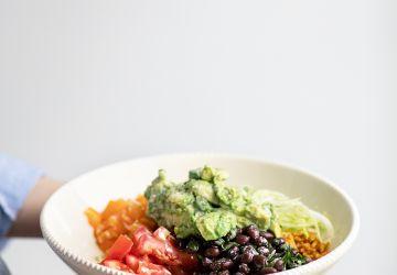 Salade de style burritos