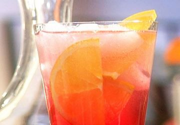 Cocktail Canneberge-Campari