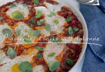 Casserole d'oeufs à l'italienne